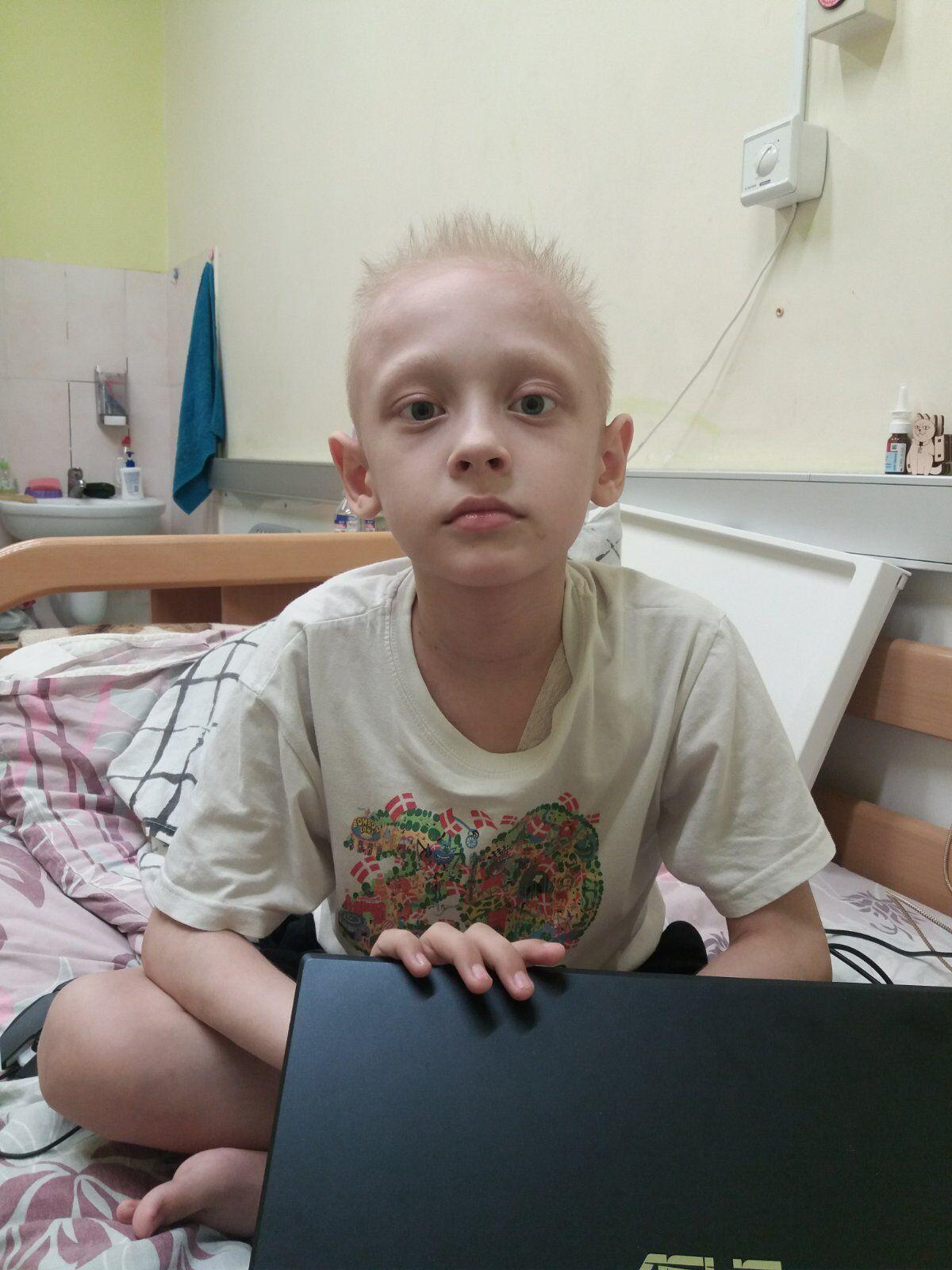У Національному інституті раку хлопчик провів 4 місяці