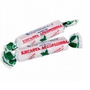 Аскорбиновая Кислота (Витамин С) С Сахаром С Мятным Вкусом