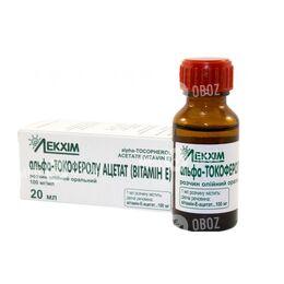 Альфа-Токоферола Ацетат (Витамин Е)