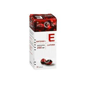 Витамин Е 200-Зентива