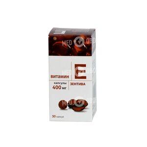 Витамин Е 400-Зентива