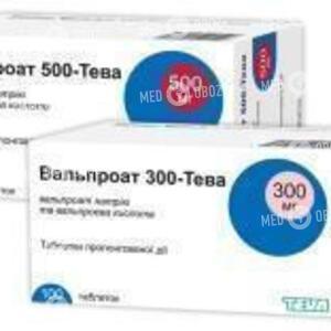 Вальпроат 300-Тева