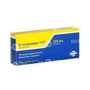 Клиндамицин-Мип 300 Мг