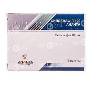 Силденафил 100 Ананта