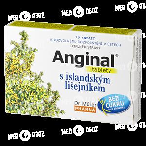 Ангинал с исландским мохом