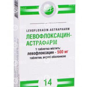 Левофлоксацин-Астрафарм
