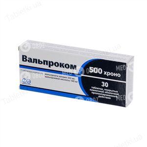 Вальпроком 500 Хроно