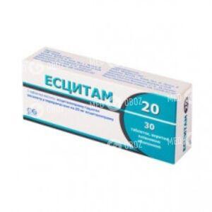 Эсцитам 20