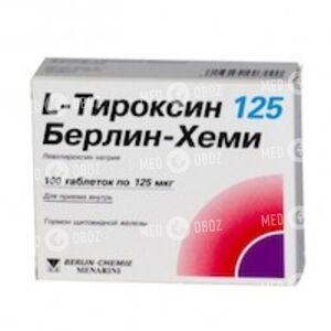 L-Тироксин 125 Берлин-Хеми