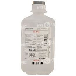 Глюкоза 5% Б Браун