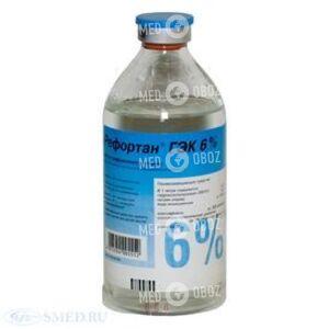 Гек-Инфузия 6%