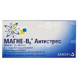Магне-В6 Антистресс