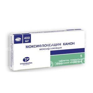 Моксифлоксацин Канон