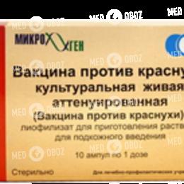 Вакцина Для Профилактики Краснухи