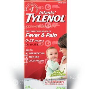 Детский Тайленол от простуды