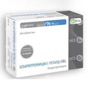 Кларитромицин ретард-OBL