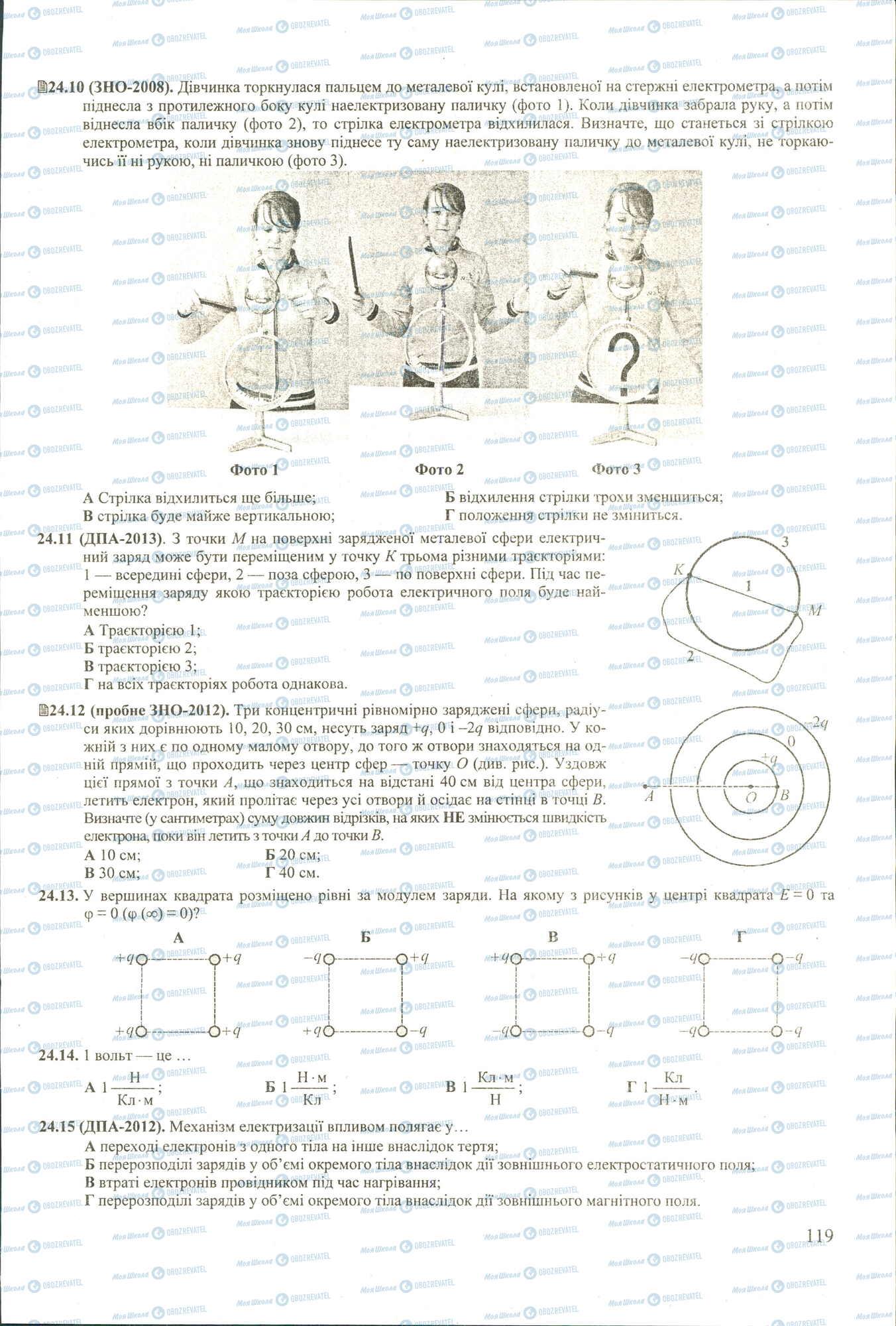 ЗНО Физика 11 класс страница 10-15