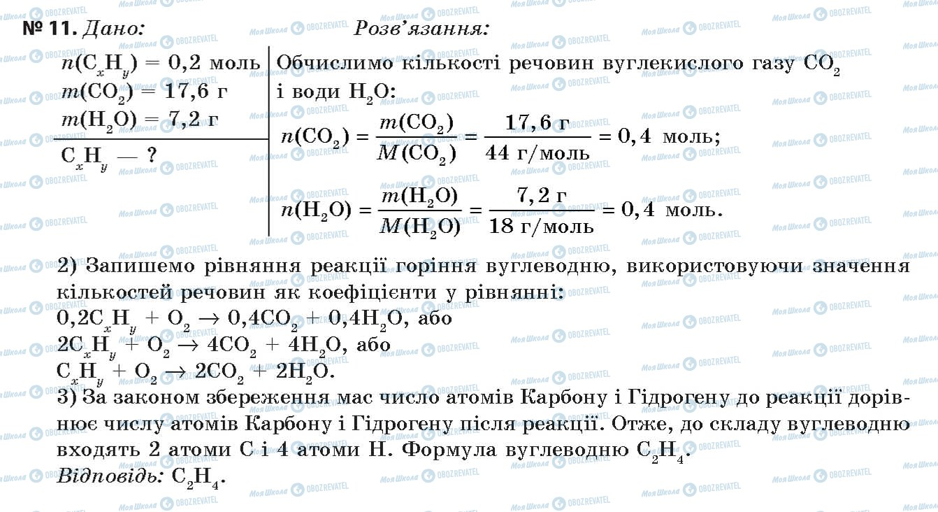 ГДЗ Химия 11 класс страница 11