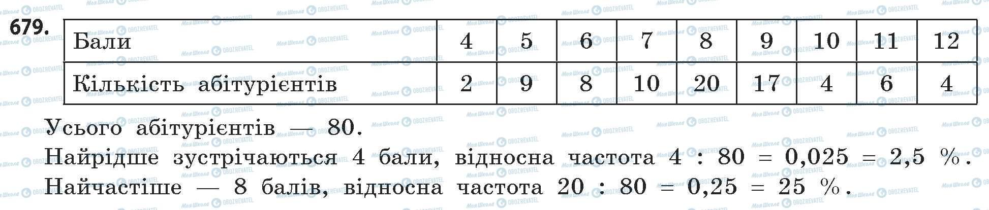 ГДЗ Математика 11 класс страница 679