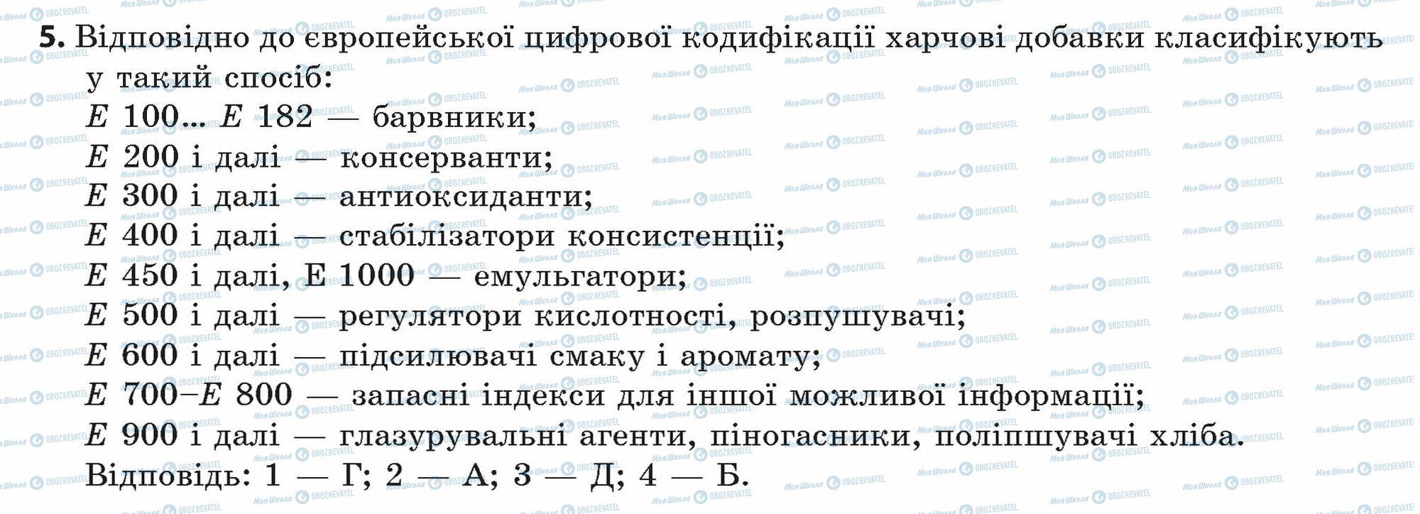 ГДЗ Химия 11 класс страница 5