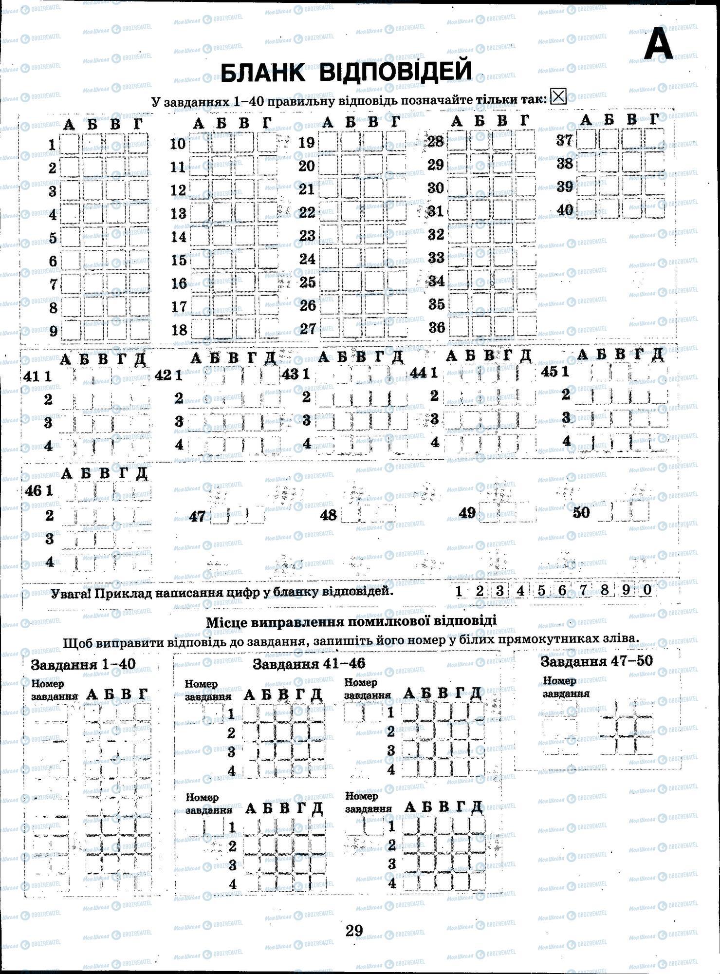 ЗНО Хімія 11 клас сторінка 29
