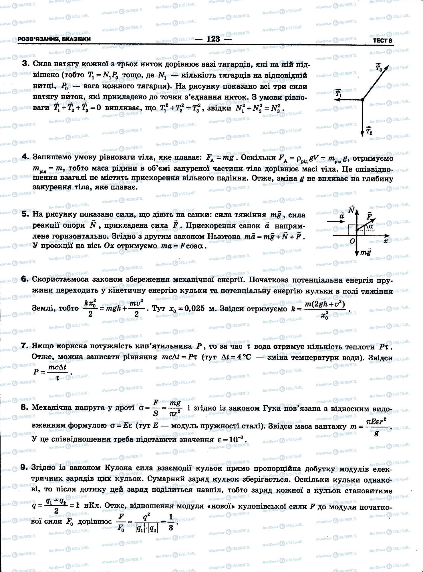 ЗНО Фізика 11 клас сторінка 123