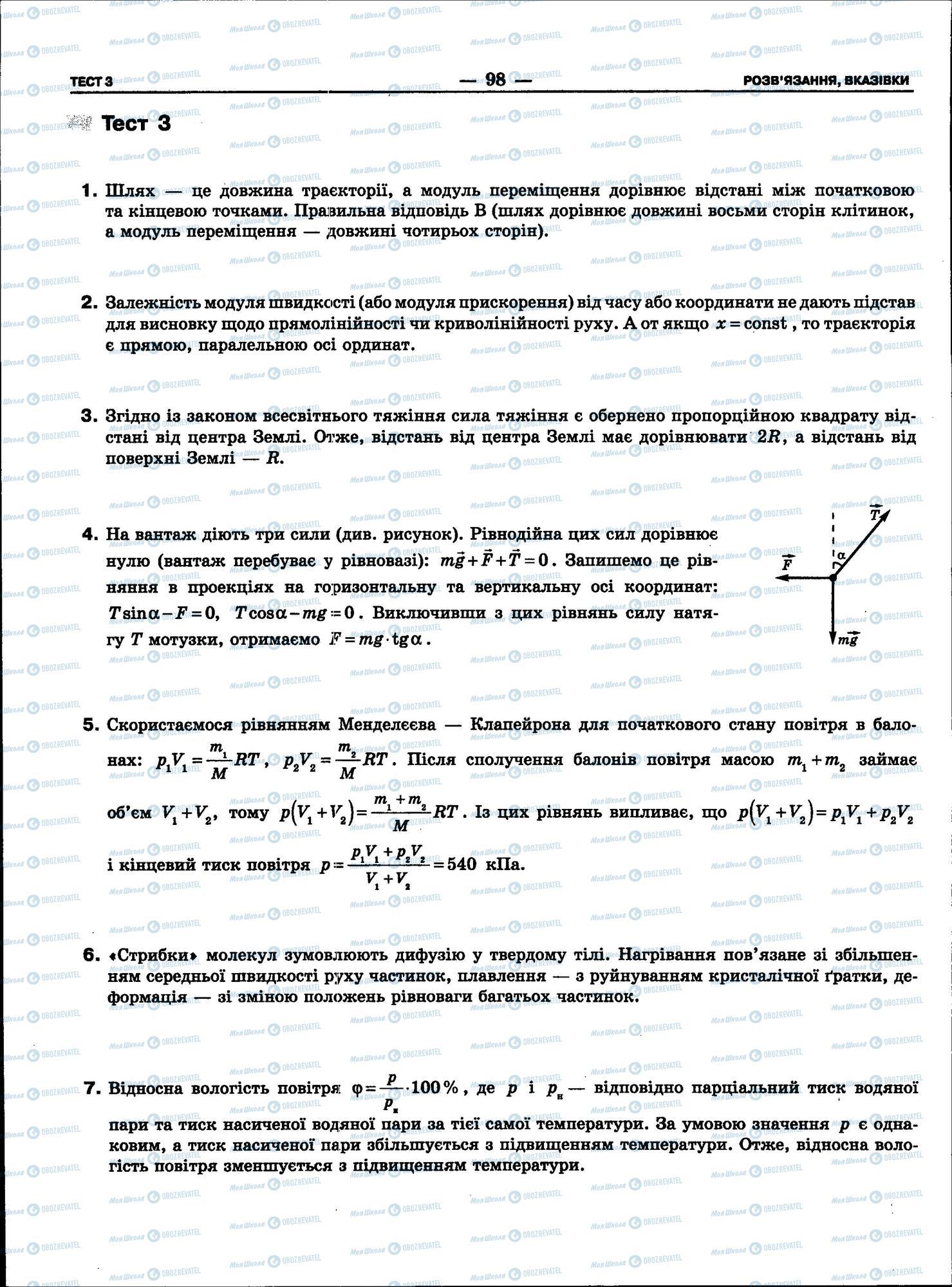 ЗНО Физика 11 класс страница 98