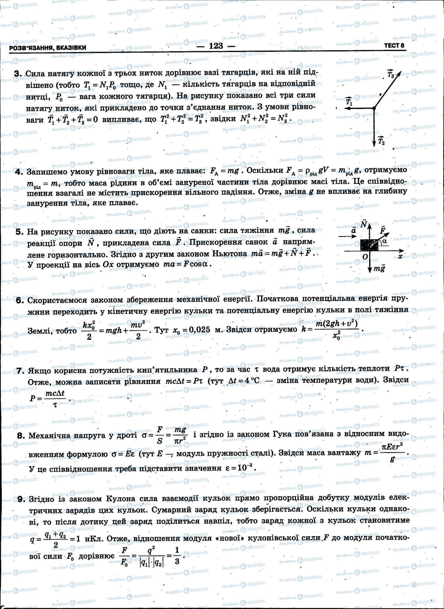 ЗНО Физика 11 класс страница 123