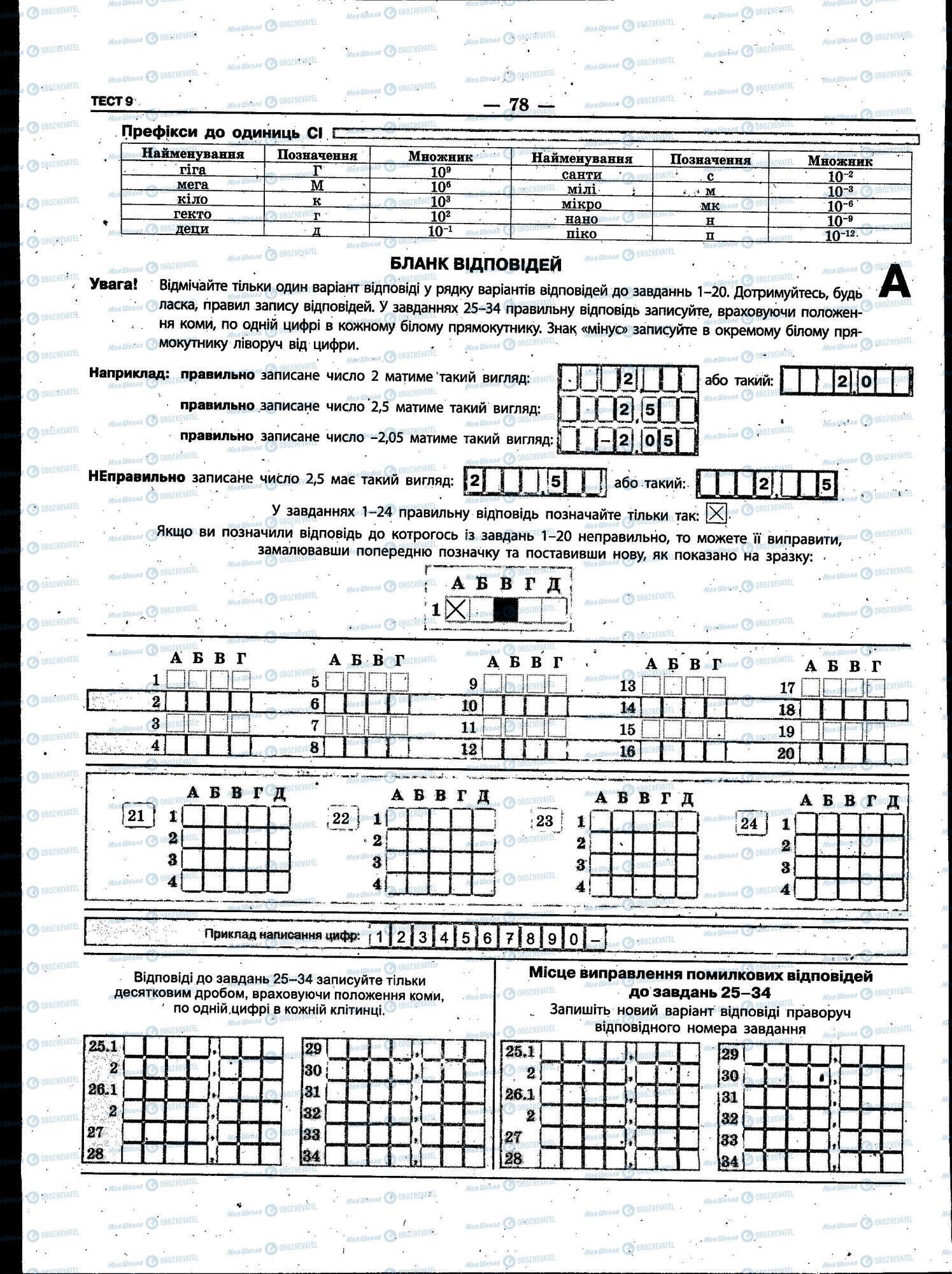 ЗНО Физика 11 класс страница 078