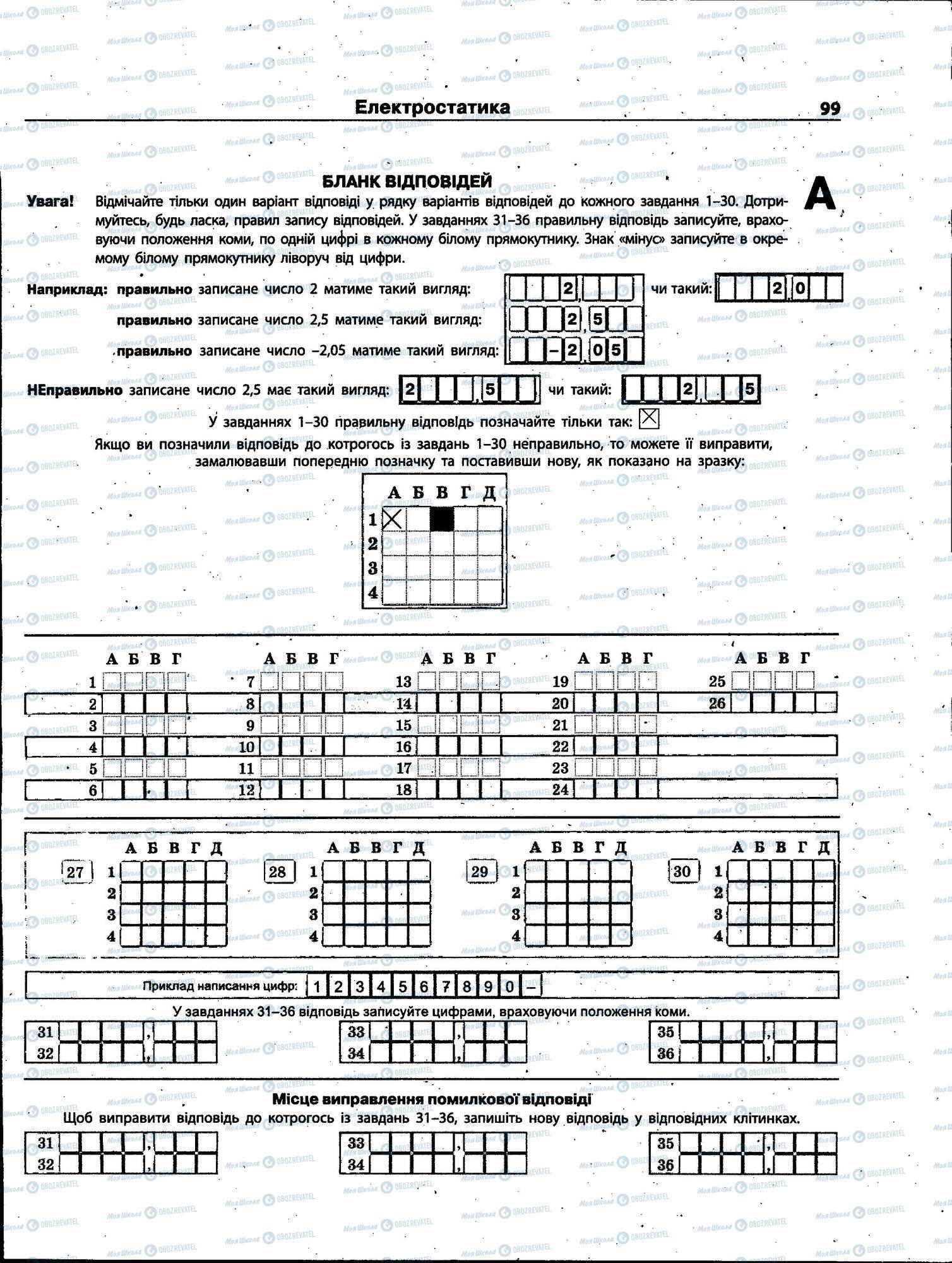 ЗНО Физика 11 класс страница 099