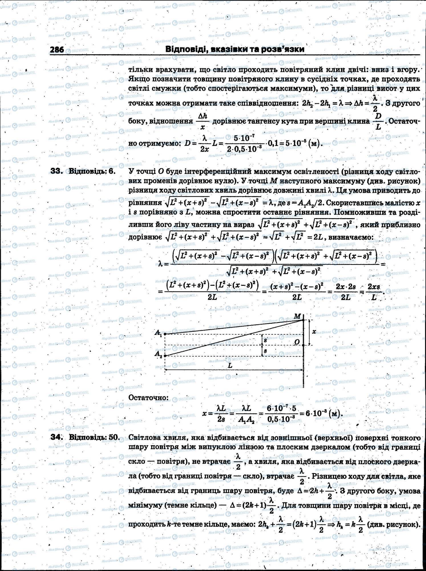 ЗНО Физика 11 класс страница 286