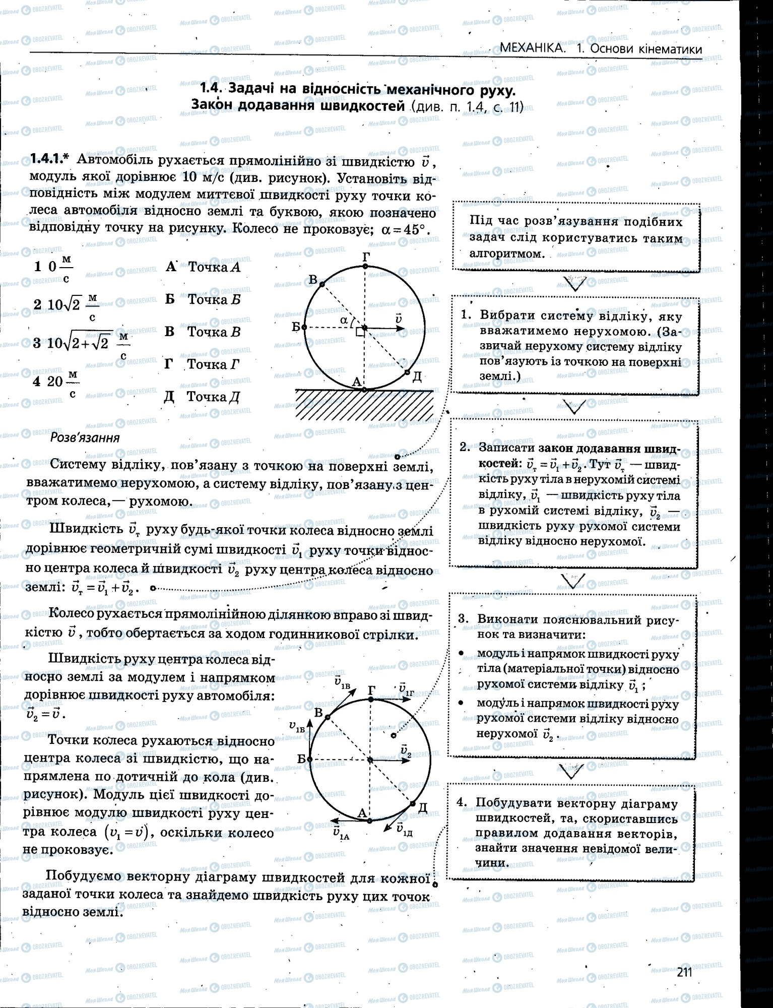 ЗНО Фізика 11 клас сторінка 211