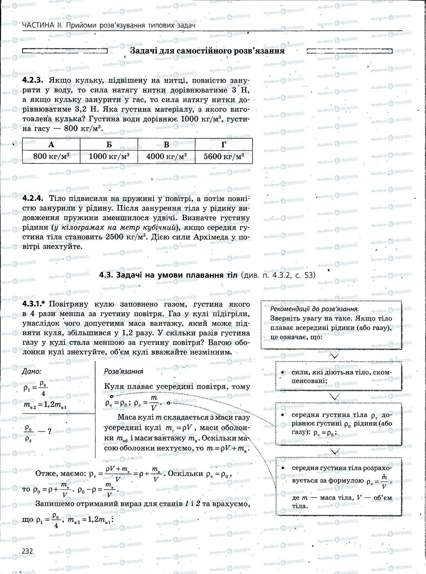 ЗНО Физика 11 класс страница 232