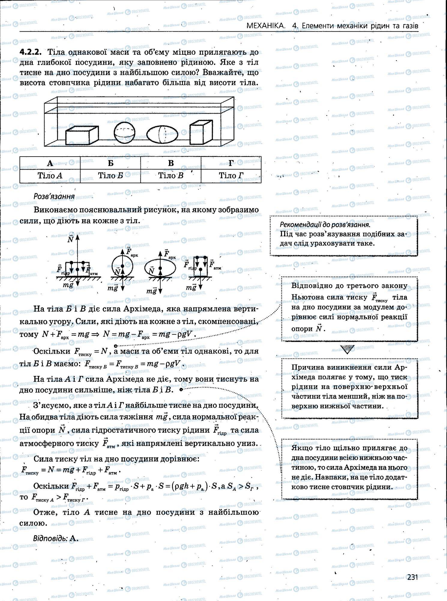 ЗНО Фізика 11 клас сторінка 231