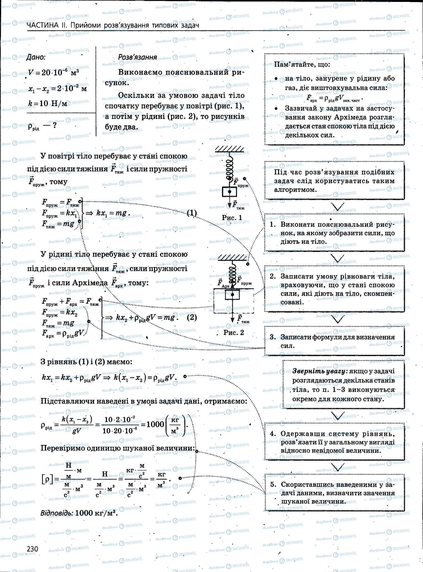 ЗНО Фізика 11 клас сторінка 230