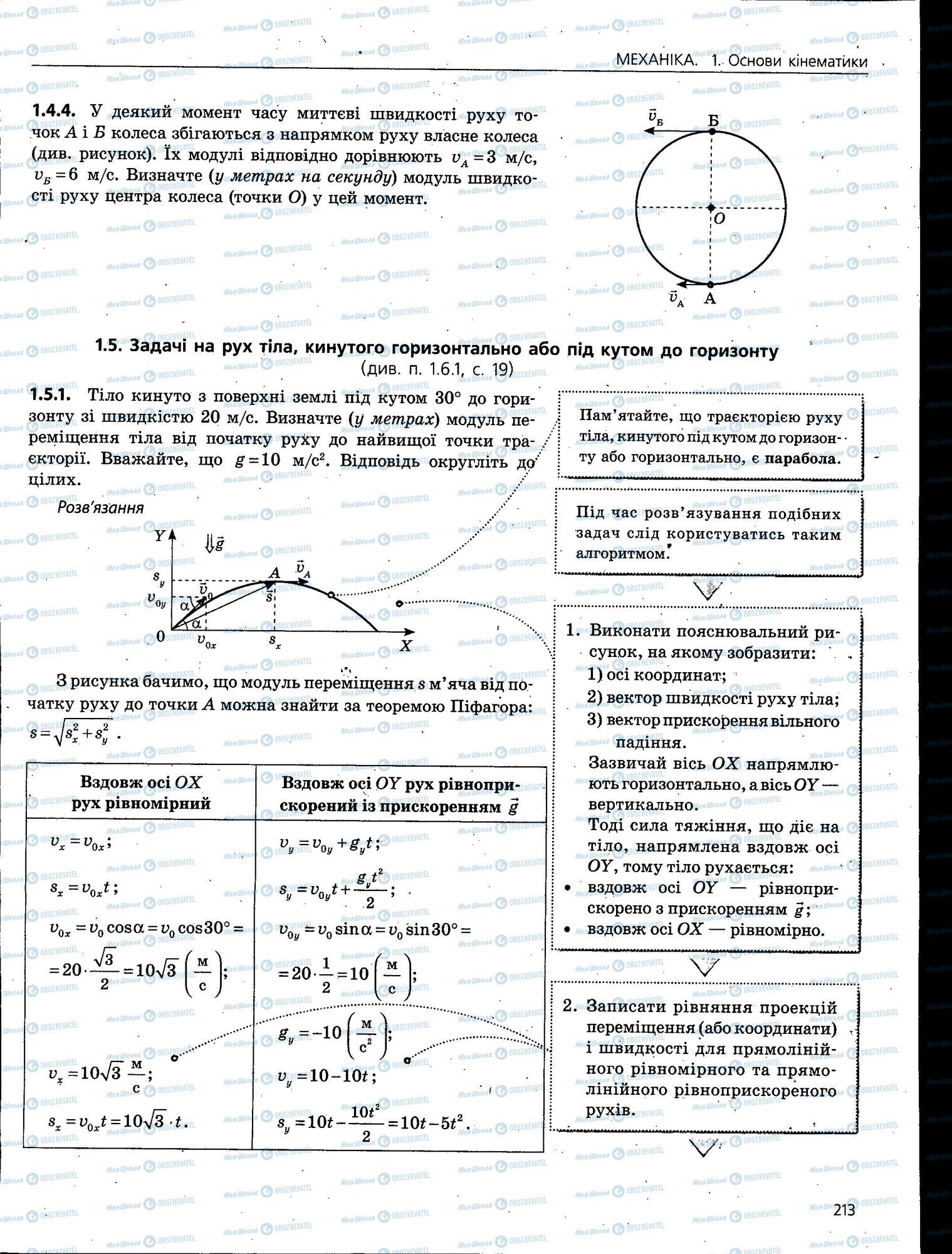 ЗНО Физика 11 класс страница 213