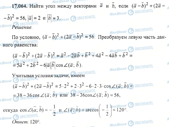 ГДЗ Алгебра 11 клас сторінка 17.064