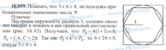 ГДЗ Алгебра 11 клас сторінка 16.059
