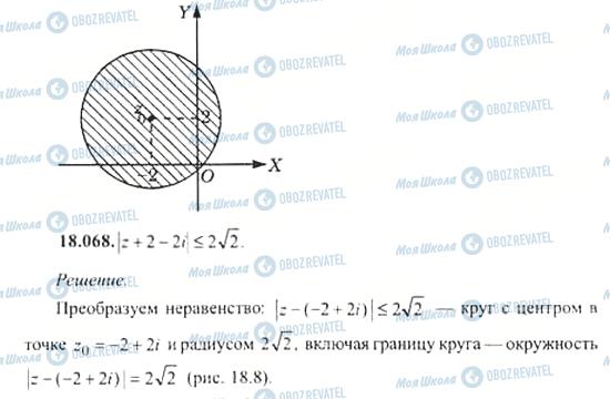 ГДЗ Алгебра 11 класс страница 18.068