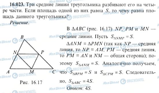 ГДЗ Алгебра 11 клас сторінка 16.023