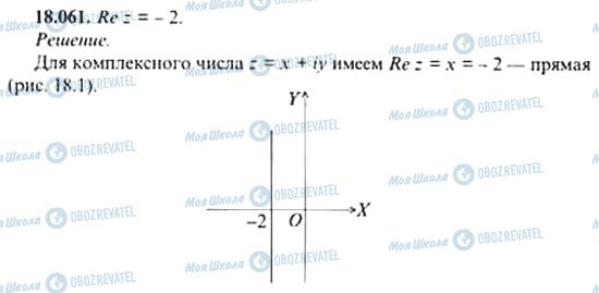 ГДЗ Алгебра 11 класс страница 18.061