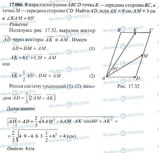 ГДЗ Алгебра 11 клас сторінка 17.066