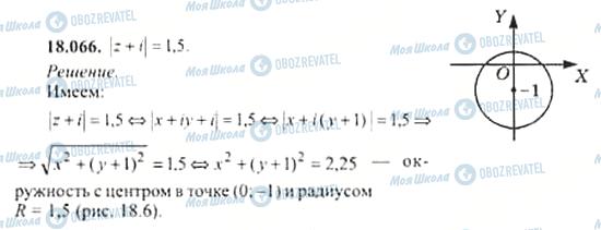ГДЗ Алгебра 11 клас сторінка 18.066