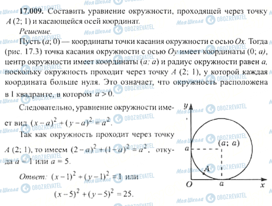 ГДЗ Алгебра 11 клас сторінка 17.009