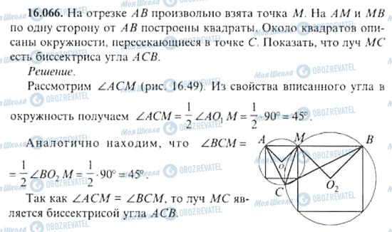 ГДЗ Алгебра 11 класс страница 16.066