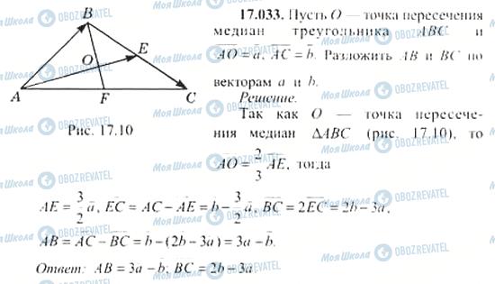 ГДЗ Алгебра 11 клас сторінка 17.033