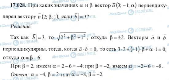 ГДЗ Алгебра 11 клас сторінка 17.028