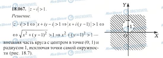 ГДЗ Алгебра 11 клас сторінка 18.067