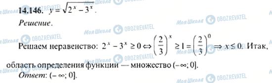 ГДЗ Алгебра 11 клас сторінка 14.146