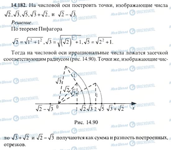 ГДЗ Алгебра 11 клас сторінка 14.182